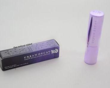 Sheer Revolution Lipstick 'Anarchy' de Urban Decay : une envie de printemps