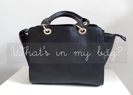 What's in my bag? {version mythe vs réalité}