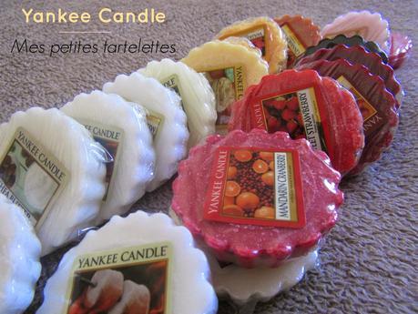 A la découverte des tartelettes Yankee Candle !