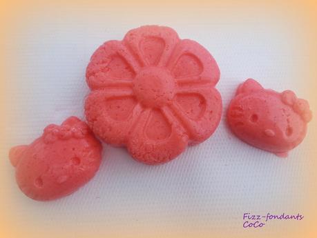 Fizz-fondants de bain fragrance fleur d'oranger