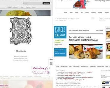 Blog roll : les blogs culinaires qui font frétiller mes papilles