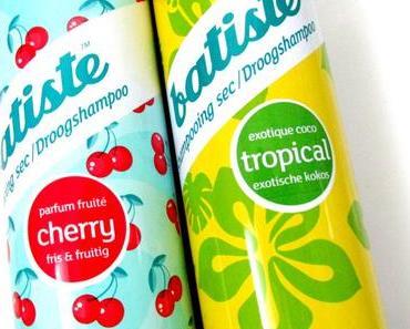 Deux shampoings secs Batiste parfaits pour le printemps/été