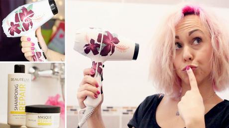 Test et Revue : Nouvelle routine cheveux et Sèche-cheveux ...