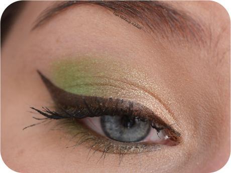 Makeup Printanier Vert Pomme 2