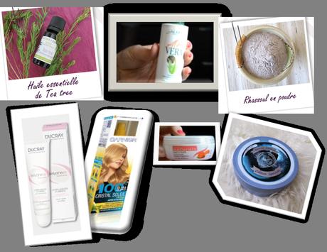 | FAVORIS | #12 The body Shop, Garnier, Aroma Zone, Ducray, Lipton