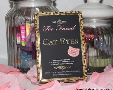 Revue : La merveilleuse palette « Cat Eyes » de chez Too Faced