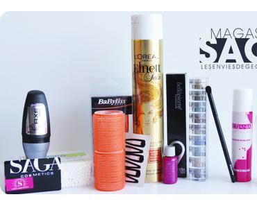 Découverte des magasins SAGA Cosmetics #haul