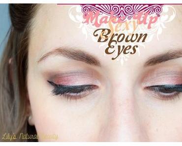 ✿ Make up Sexy Brown Eyes!