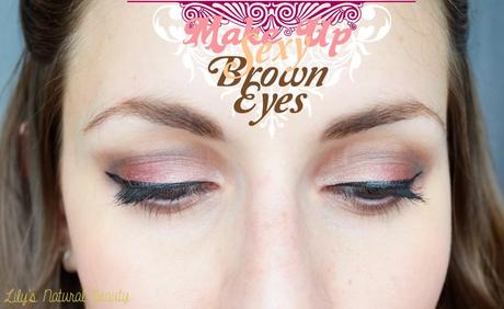 ✿ Make up Sexy Brown Eyes!