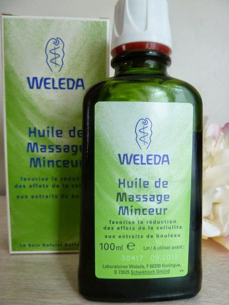 Cellulite, j'aurai ta peau avec l'Huile de Massage Minceur de Weleda et le CelluBlue