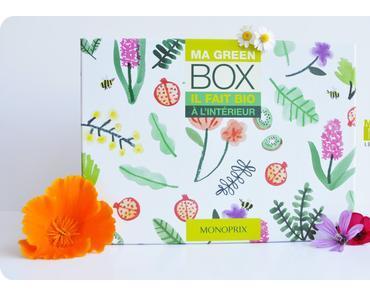La Green Box de Monoprix : WAHOU !