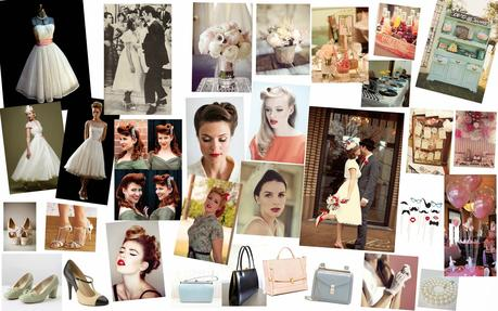 fifties wedding mariage ann es 50 inspirations. Black Bedroom Furniture Sets. Home Design Ideas