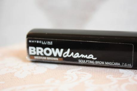 Gemey Maybelline, le cas du Brow Drama!