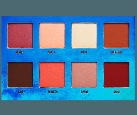 Dupe de la palette Venus de Lime Crime [Makeup Geek]