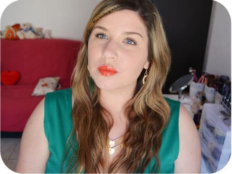 Rouge à lèvres Porte Baiser Orange Mécanique Etam 6