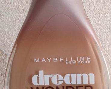 ♥ Mon avis (mitigé) sur le Dream Wonder Nude de chez Maybelline ... ♥