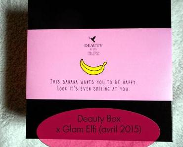 La Deauty box d'avril 2015