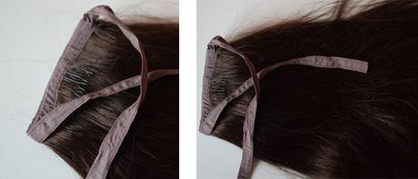 des cheveux de licorne avec rubin extensions. Black Bedroom Furniture Sets. Home Design Ideas