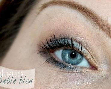 Makeup sable bleu