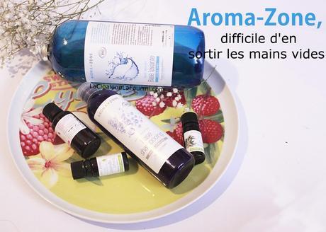 Ce que j'ai pensé de la boutique Aroma-Zone à Paris.