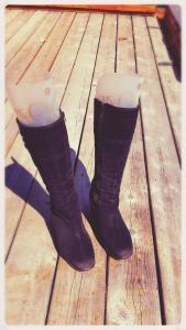 Ménage de printemps sur les bottes d'hiver ou Comment nettoyer et remiser nos bottes