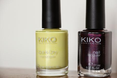 Haul printanier Kiko & premières impressions !