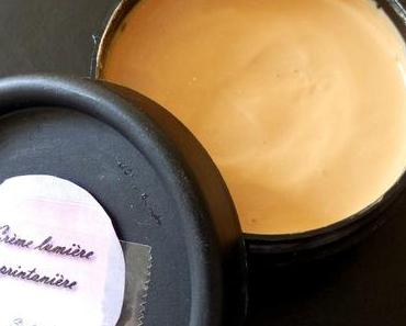 Crème visage lumière printanière