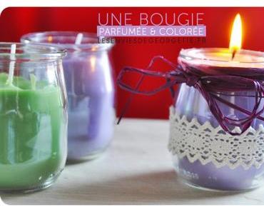 Comment faire une bougie parfumée et colorée ? #DIY