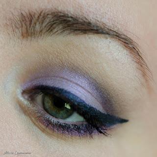 Inspiration cut crease violet