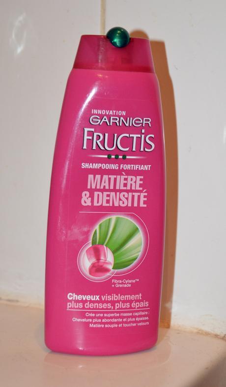 Garnier donne matière et densité à mes cheveux ?