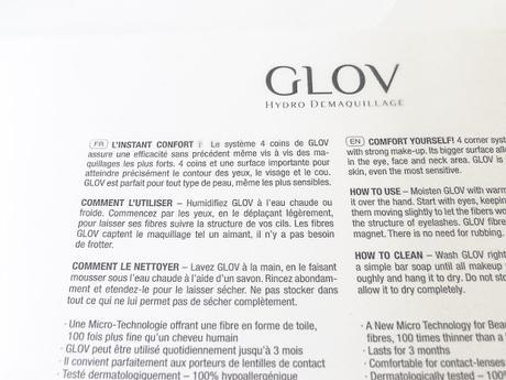 Se Démaquiller à l'Eau: GLOV et Son Gant Magique