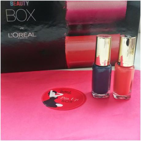 Beauty Box de L'oréal Pin Up