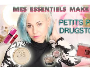 Mes Essentiels Make up : Version Drugstores/Petits prix