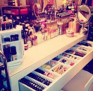 [ Idées d'une Beauty Addict n°1 ] Comment choisir votre Coiffeuse Beauté si vous êtes une Beauty Addict (ou pas ;) ) ???