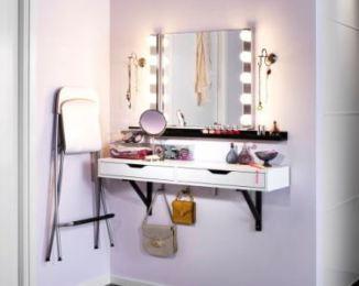 d coration miroir coiffeuse lumineux ikea 92 nanterre miroir coiffeuse meuble coiffeuse. Black Bedroom Furniture Sets. Home Design Ideas