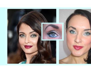 [ Beauté – Make Up n°4 ] Maquillage Émeraude spécial – Festival de Cannes 2015 inspiré de Aishwarya Rai – Réalisé avec la Naked 2