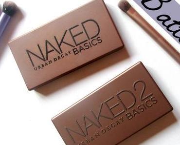 Battle: Les palettes Naked Basics!