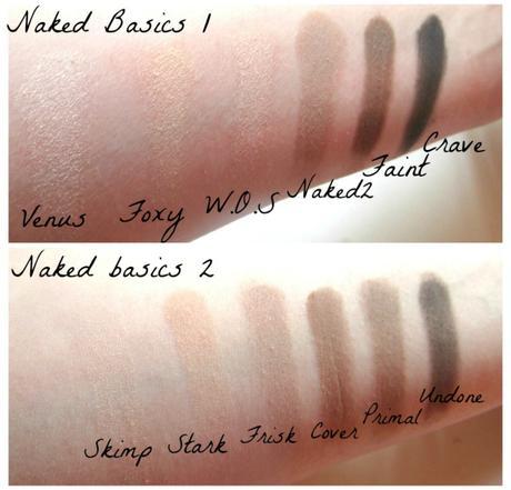Swatch naked basics 1 et 2