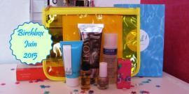 Birchbox Juin 2015 – Box #2 – Mes 6 produits reçus + Mon avis – TOP ou FLOP ???