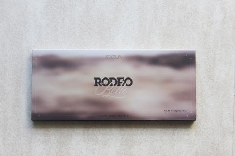 La palette Rodeo Belle signée Zoeva