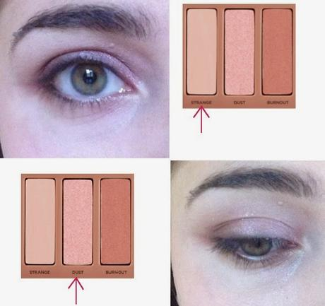 Maquillage spécial yeux verts