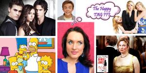 The Happy TAG – pour me connaître un peu mieux – mes 5 films, 5 séries, 5 livres  et 5 chansons qui me donnent le sourire ♥