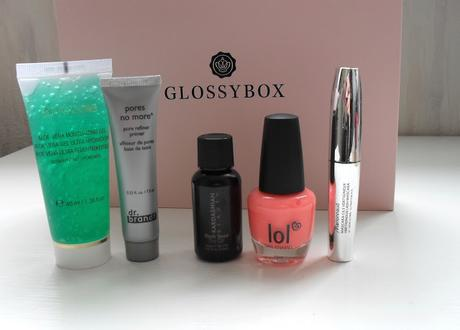 Glossybox de Juin