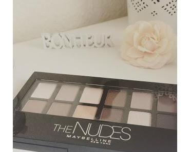 Un maquillage avec la palette The Nudes de Maybelline