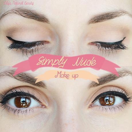 Simply nude make up.