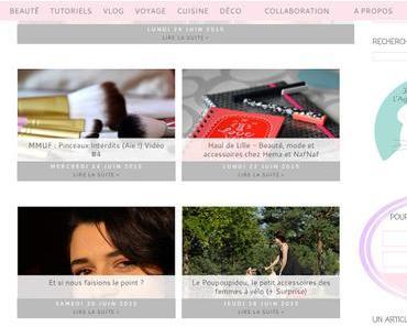 Enfin une newsletter pour Toute de Rose Poudrée !