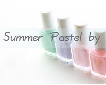 ESSIE : Sélection Summer Pastel