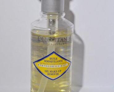 Huile démaquillante à l'huile essentielle d'immortelle de L'Occitane en Provence
