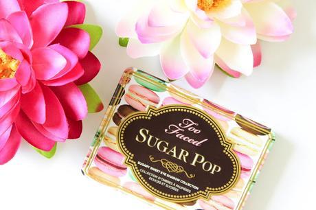 Sugar pop de too faced: ma palette de l'été all day & night!