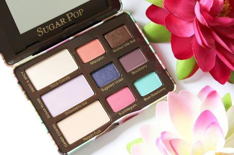 Sugar pop de too faced: ma palette de l'été all day & night!